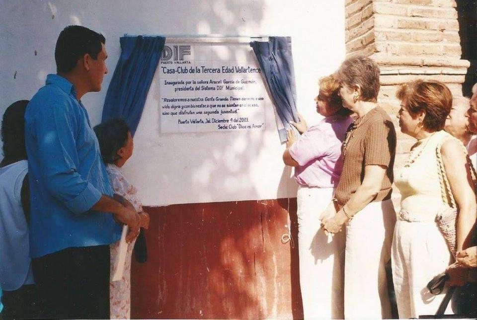 Elba Díaz en Dif Puerto Vallarta