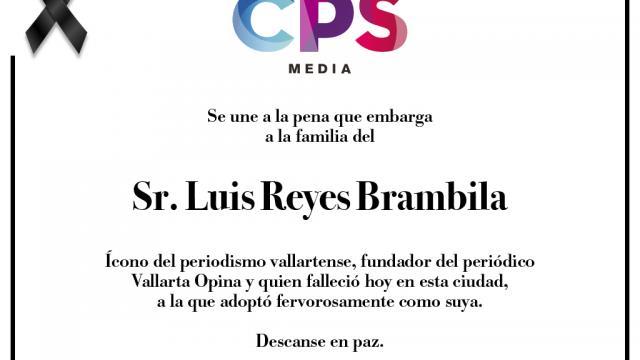 Esquela Luis Reyes Brambila