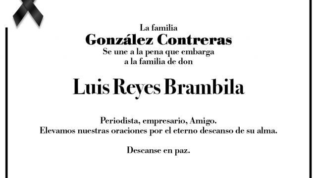 Esquela Luis Reyes
