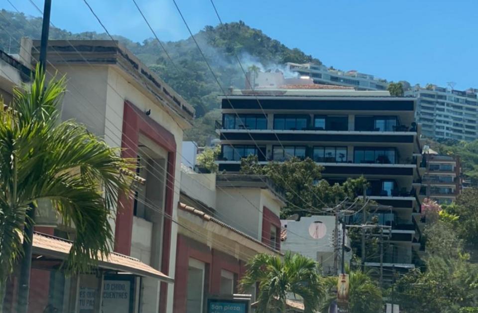 Incendio en Zona Romántica