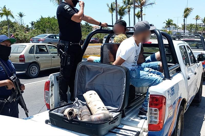Detenidos por actitud sospechosa