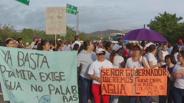 Conjuran la protesta y bloqueo de la carretera en Punta de Mita
