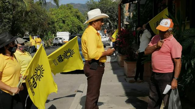 Otoniel Barragán candidato del PRD