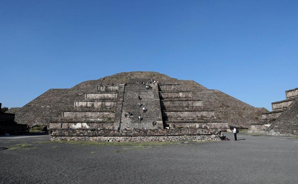 Obras dañan zona arqueológica de Teotihuacán
