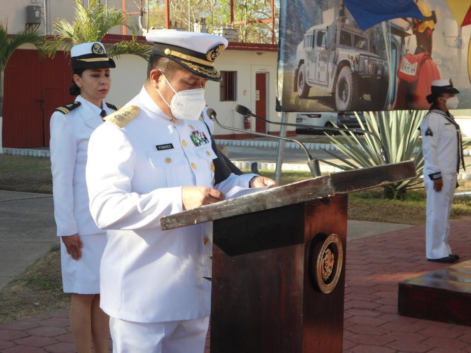 Conmemoración el CVII aniversario de la gesta heroica del puerto de Veracruz