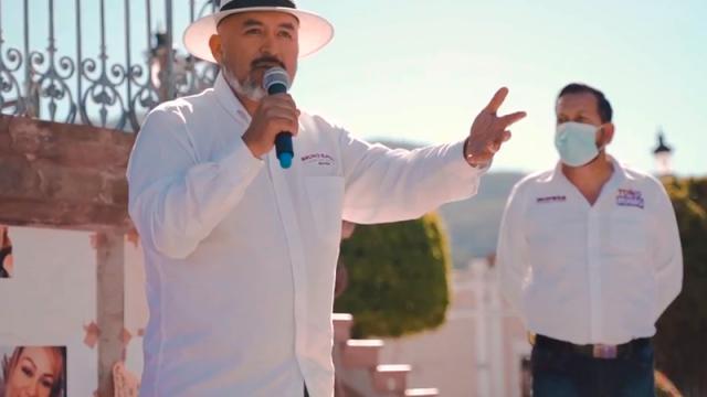 Toño Rubio no está solo el pueblo lo respalda: Bruno Blancas