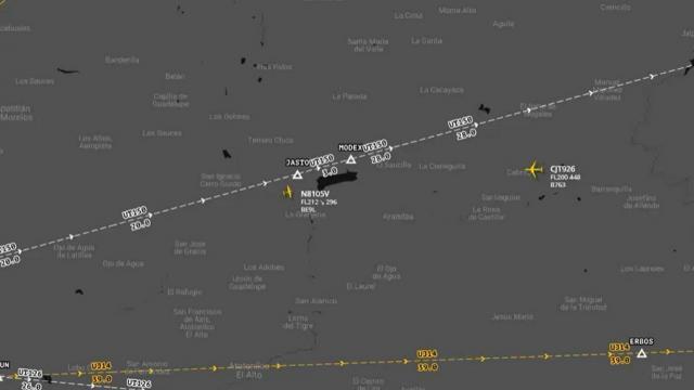 Tráfico aéreo en el oriente de Guadalajara