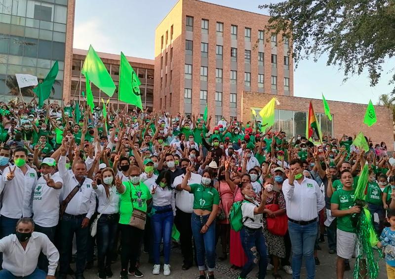 """Tsunami Verde resultó la """"Marcha por la Esperanza"""""""