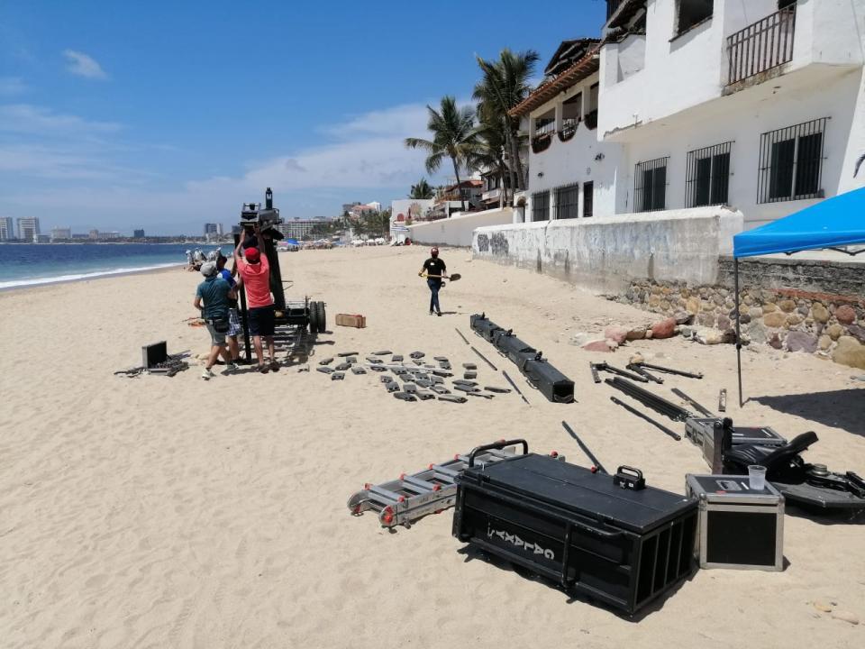 Pandemia no para las filmaciones en Puerto Vallarta