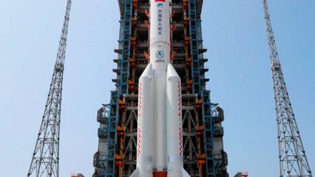 Pentágono rastrea cohete chino que puede impactar la Tierra el 8 de mayo