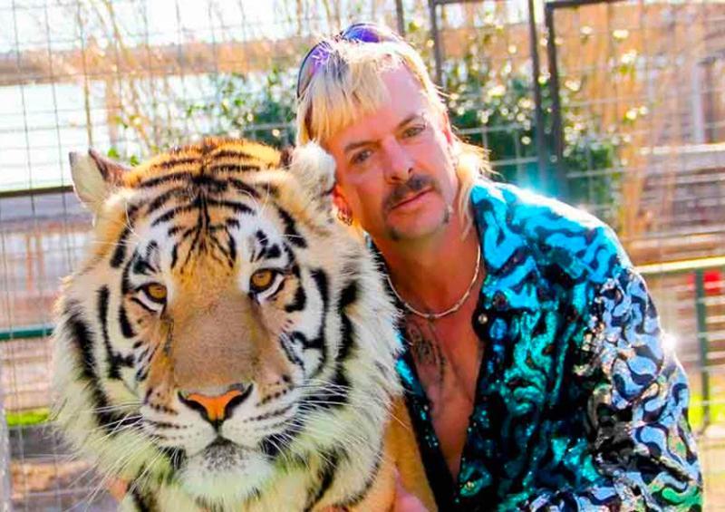 """Decomisan tigres y leones del parque """"Tiger King"""""""