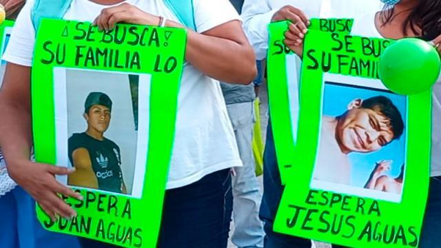 Fiscalía inicia investigación de jóvenes desaparecidos