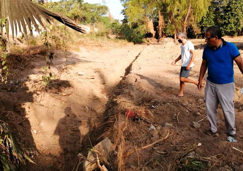 Vecinos de Lomas de Mezcales denuncian invasión