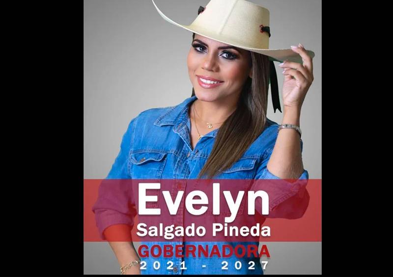 Avalan candidatura de Evelyn Salgado a gubernatura