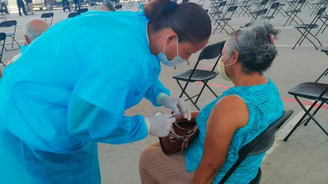 Termina jornada de vacunación en Vallarta, sobraron mil