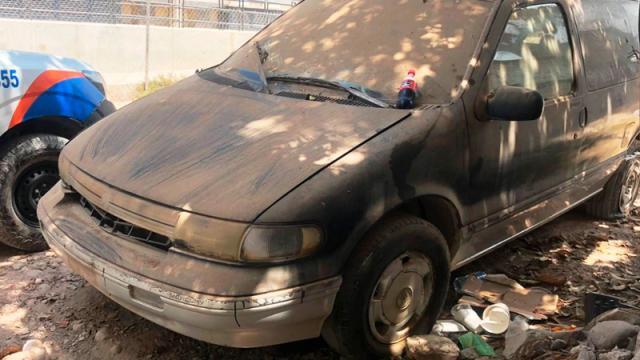 Vehículo con reporte de robo fue recuperado