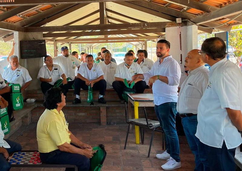 Heriberto Sánchez y su estructura se suman a Munguía