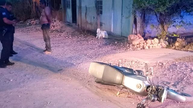 Un menor, en moto, atropelló a un niño