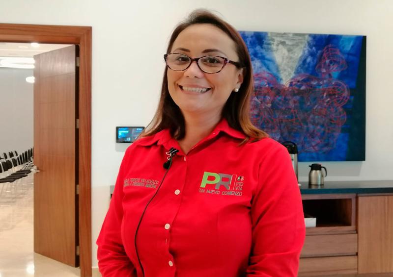 Lamentan que Lupita no vaya al debate; PRI lo analiza