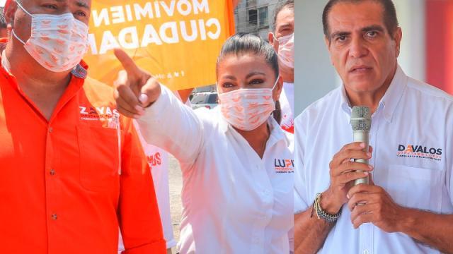 Lupita, Dávalos y Zayas, con paso firme a la victoria