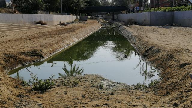 Aguas negras afectan el arroyo del Indio