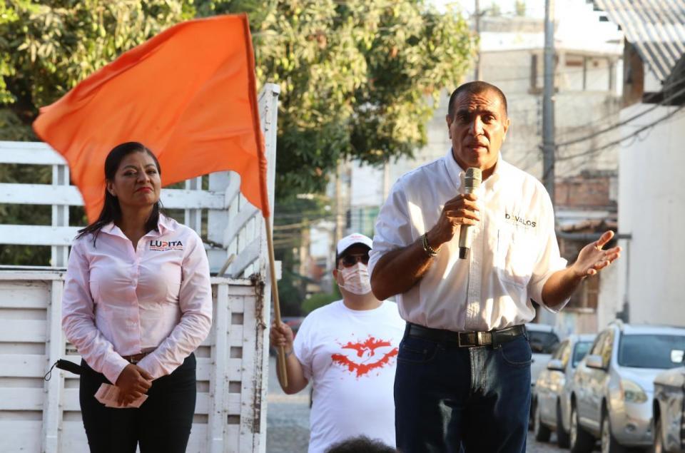 Candidato a la diputación local por el partido Movimiento Ciudadano