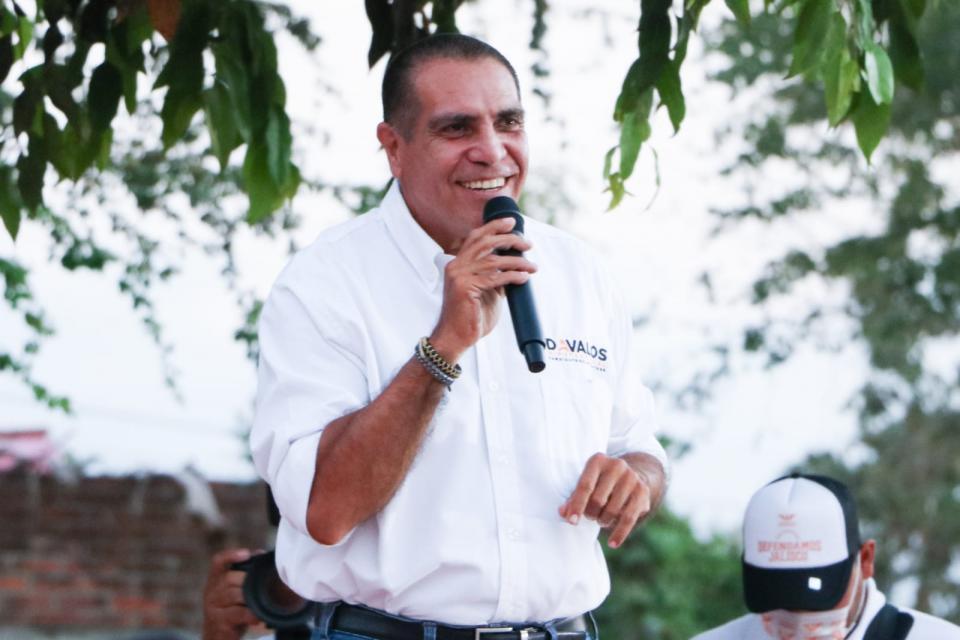 Arturo Dávalos en Mojoneras