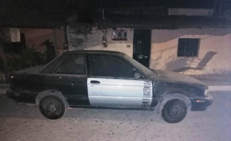 Aseguran auto robado en Villa de Guadalupe