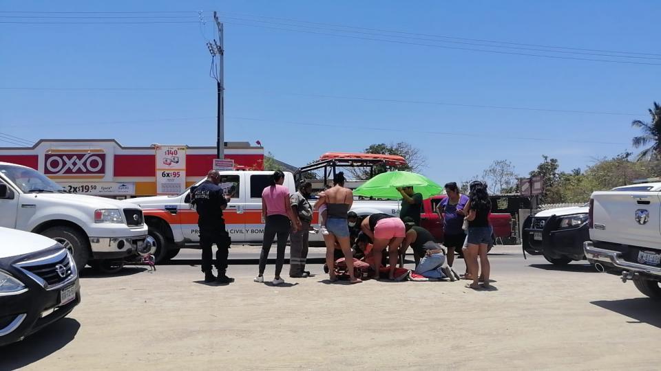 Atropellan a niño en la delegación Ixtapa