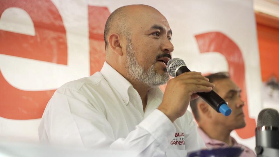 Bruno Blancas fomenta el comercio local