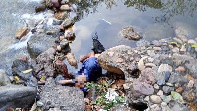 Cadáver Río Cuale