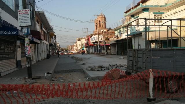 Calle Emiliano Zapata es reparada
