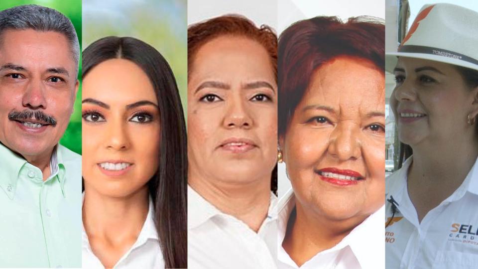 Candidatos a diputados buscan el voto popular de BB