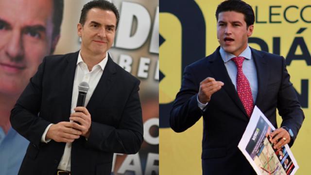 Adrián de la Garza y Samuel García