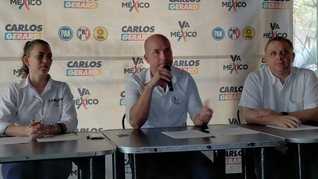 Carlos Gerard llama a ejercer el voto diferenciado