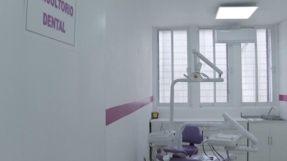 Consultorio dental en el reclusorio