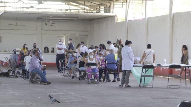 Continúa la segunda jornada de vacunación en Nayarit