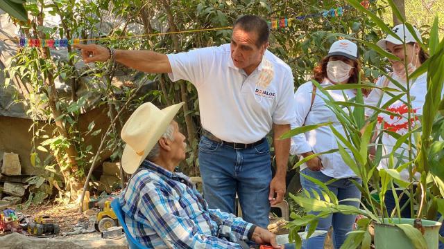 Arturo Dávalos en Cabo Corrientes