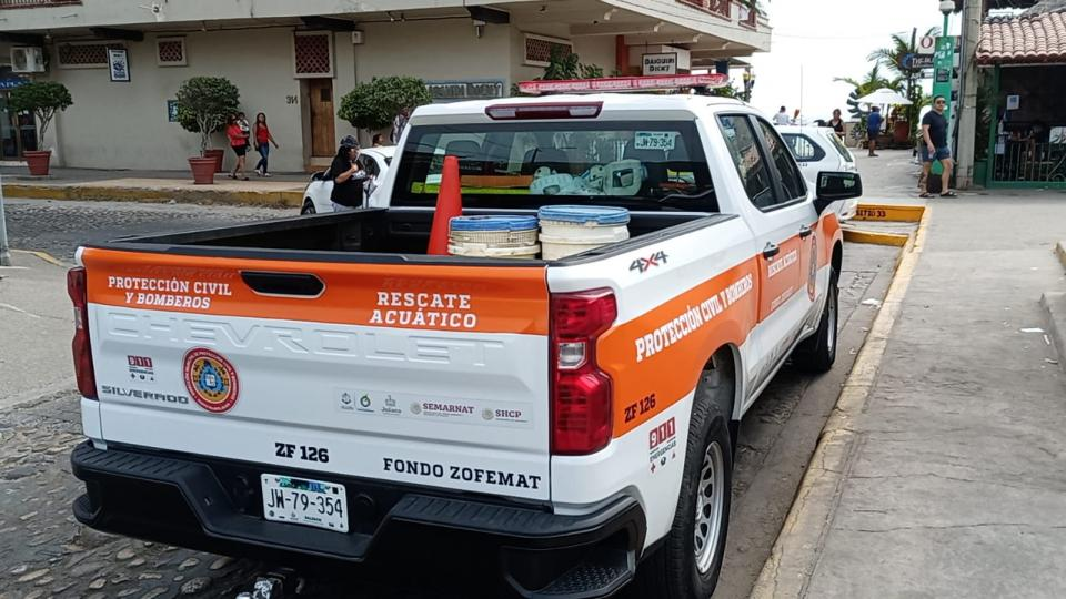 Mesero rescató a menor y murió ahogado en Puerto Vallarta