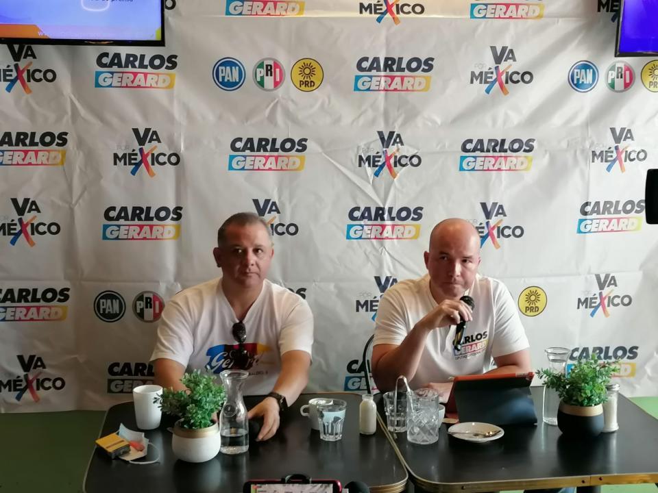 Carlos Gerard promete bajar tarifas eléctricas en hogares