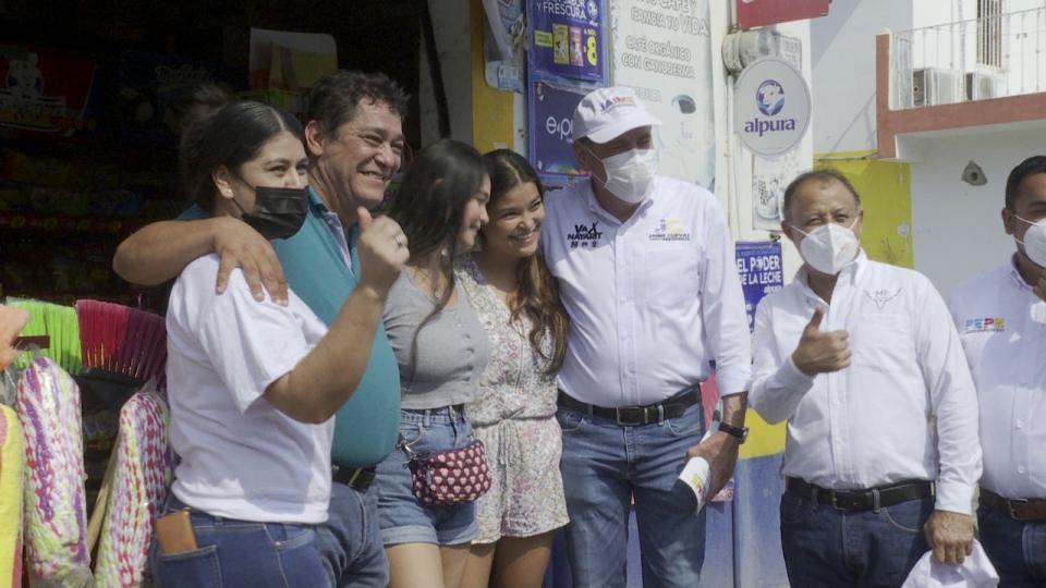 Jaime Cuevas se compromete con la gente de Jarretaderas