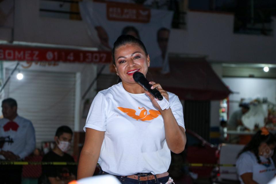 Se lograrán grandes cosas por esta ciudad: Lupita Guerrero