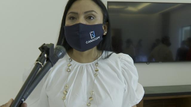 Lorena Beltrán, presidenta de la Canacope