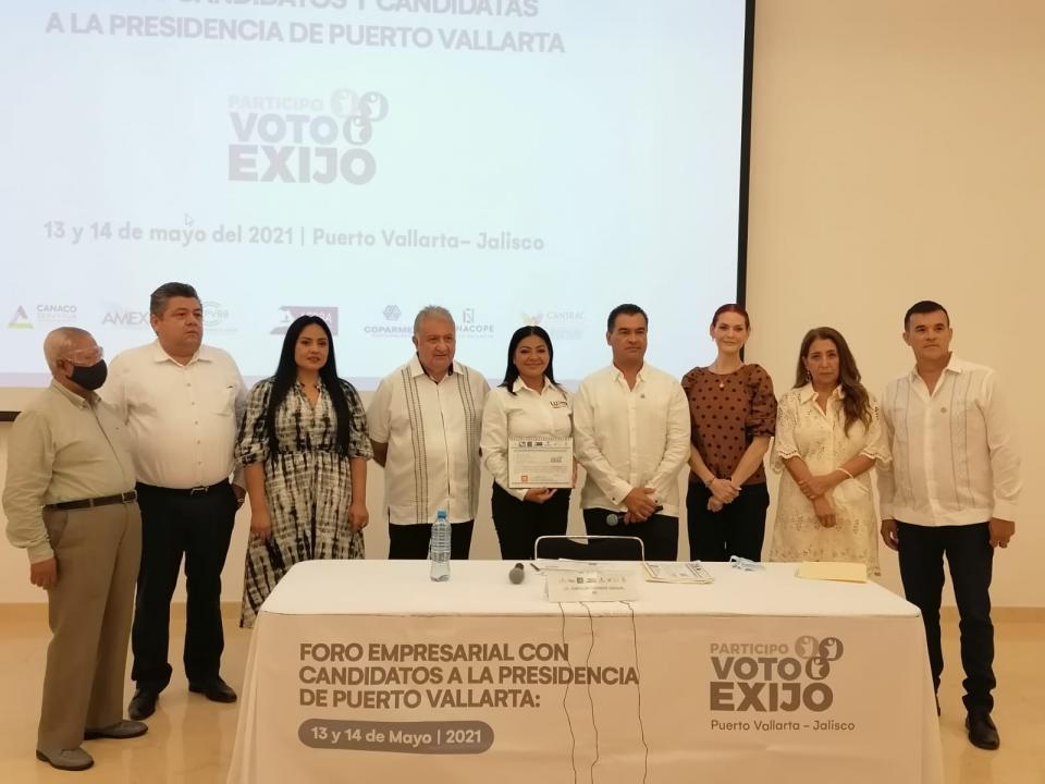 Lupita Guerrero candidata a la presidencia municipal por Movimiento Ciudadano