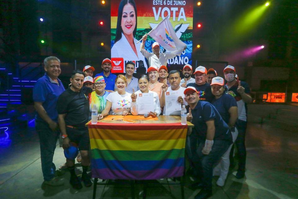 Se compromete Lupita Guerrero con la comunidad LGBT