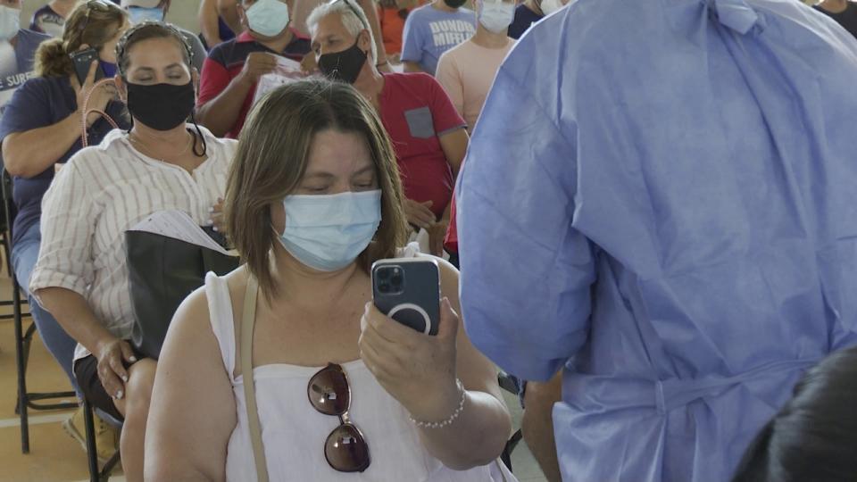 También de Mascota y Talpa vienen a vacunarse contra Covid