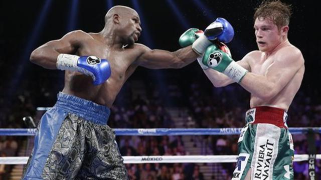 Canelo pelea contra Floyd Mayweather