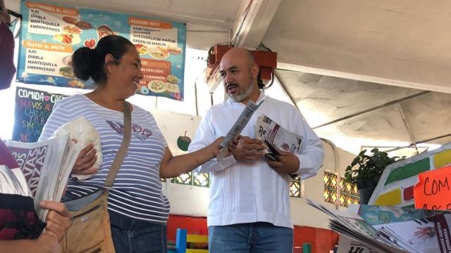 El Mercado del Mar es tinto: Blancas Mercado