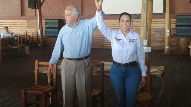 Le regresan la candidatura a Mirtha Villalvazo