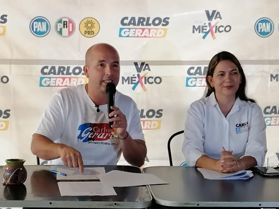 Carlos Gerard promete pelear contra la discriminación